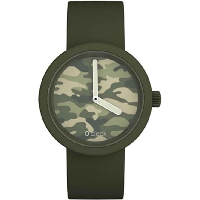 OClock Watches Camouflage Olive Watch OCC01