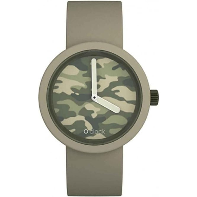 OClock Watches Camouflage Dove Watch OCC03