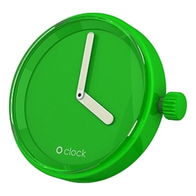 OClock Watches Tone on Tone Apple Green Dial OCF01