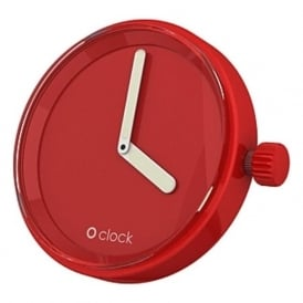 OClock Watches Tone on Tone Red Dial OCF17