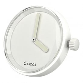 OClock Watches Tone on Tone White Dial OCF20