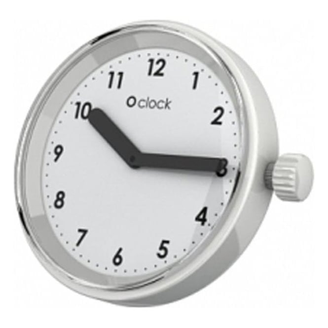 OClock Watches Numbers White Dial OCF35