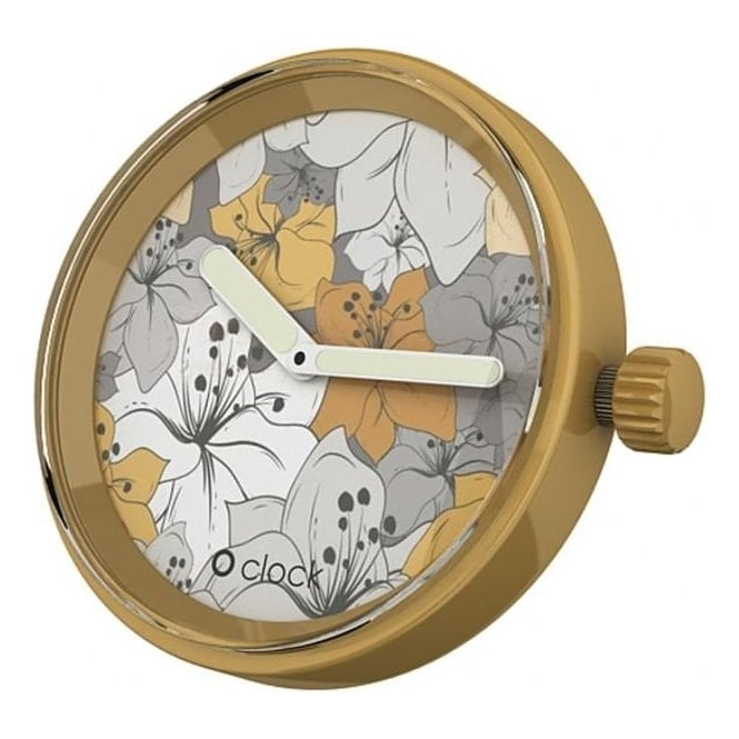 OClock Watches Flower Power Sahara Lily Dial OCF37