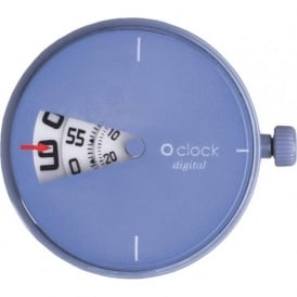 OClock Watches Digital Sky Blue Dial OCF54