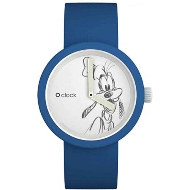 OClock Watches Disney Goofie Blue Watch OCD04