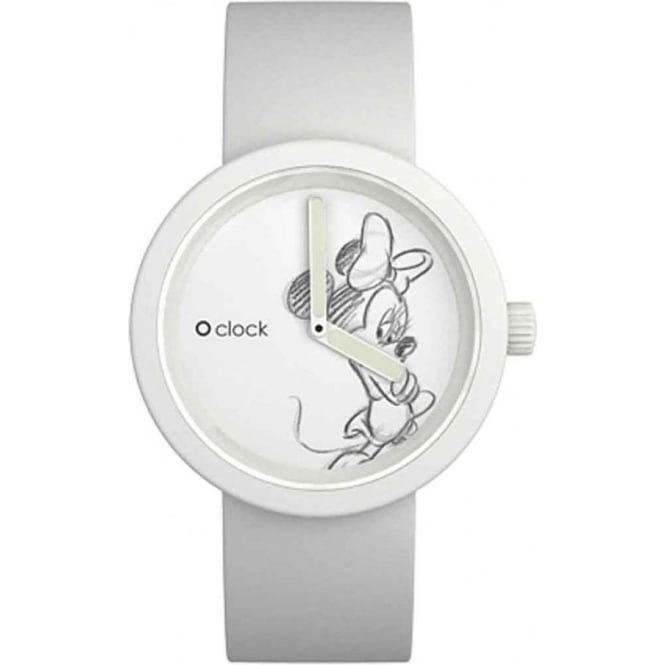 OClock Watches Disney Minnie Mouse White Watch OCD03