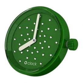 OClock Watches Crystal Emerald Dial OCF49