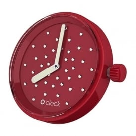 OClock Watches Crystal Ruby Dial OCF48