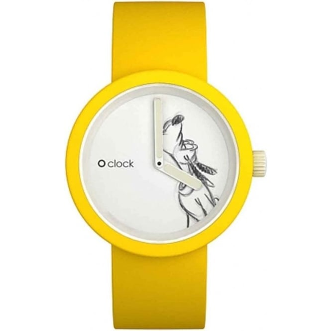 OClock Watches Disney Pluto Yellow Watch OCD01