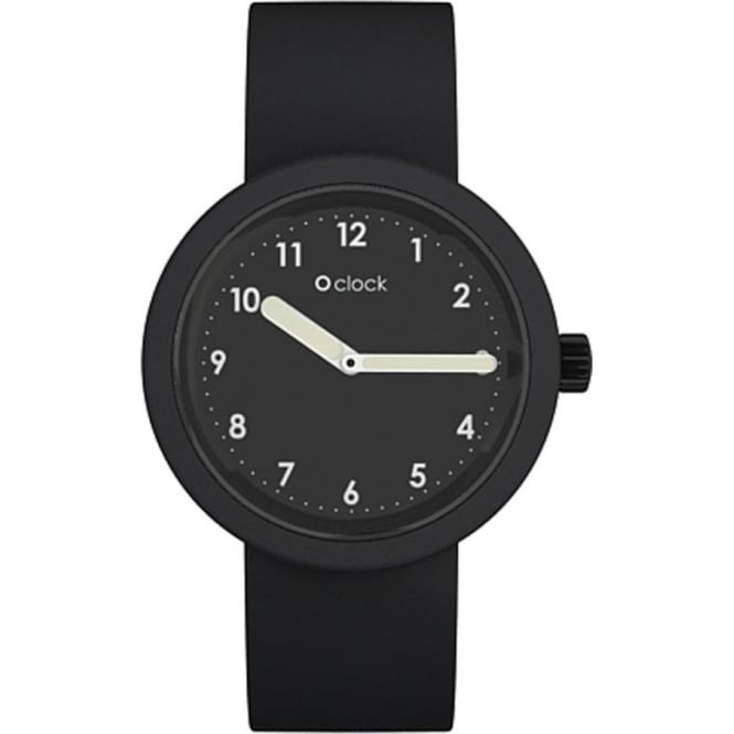 OClock Watches Numbers Black Watch OCNB02
