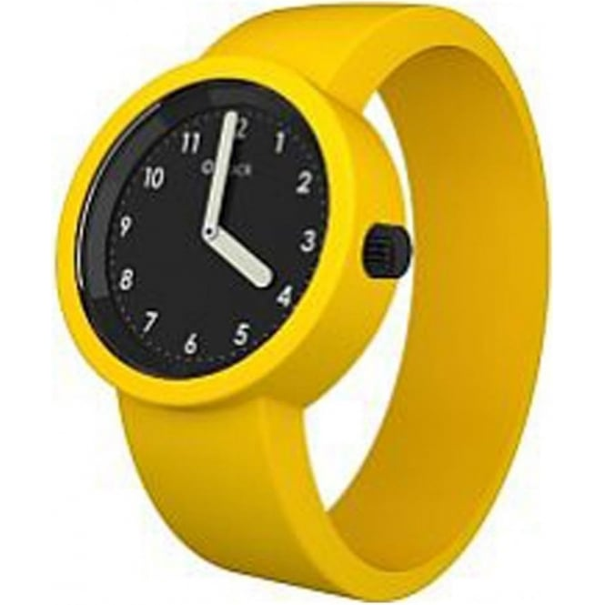 OClock Watches Numbers Black Yellow Watch OCNB21