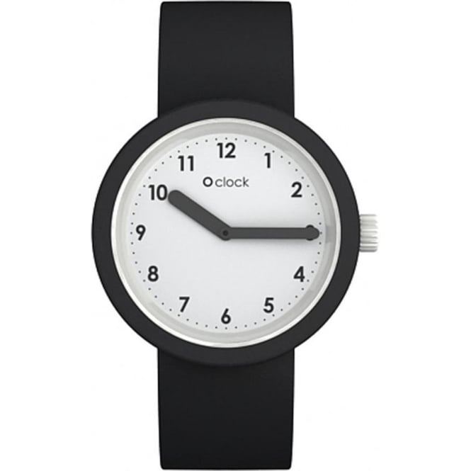 OClock Watches Numbers Black Watch OCNW02