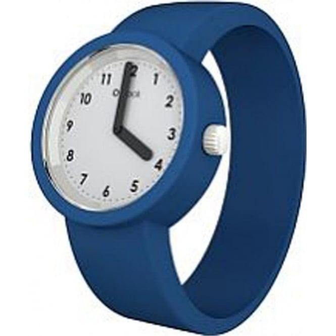 OClock Watches Numbers White Capri Blue Watch OCNW03