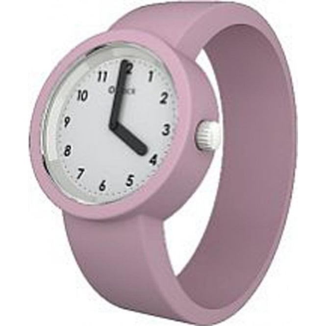 OClock Watches Numbers White Powder Pink Watch OCNW15