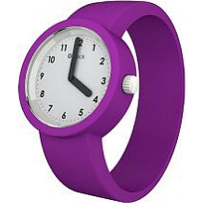 OClock Watches Numbers White Fuchsia Watch OCNW16