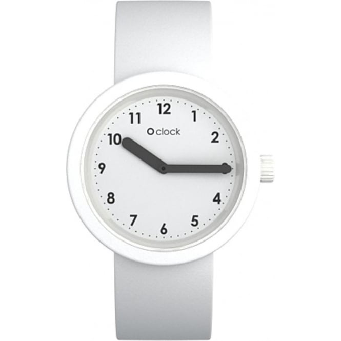 OClock Watches Numbers White Watch OCNW20