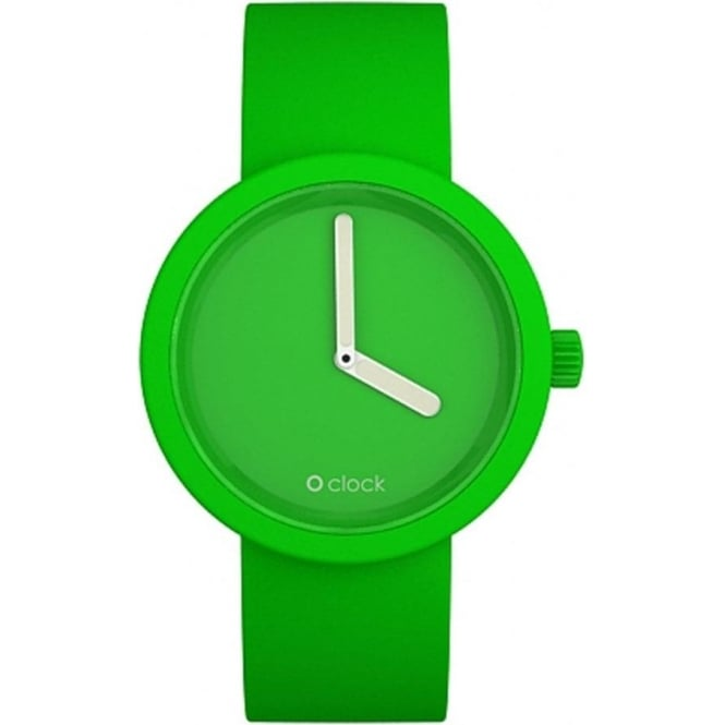 OClock Watches Tone on Tone Apple Green Watch OCT01