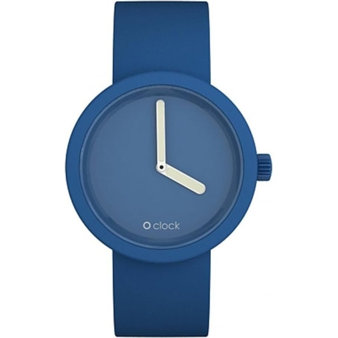 OClock Watches Tone on Tone Capri Blue Watch OCT03