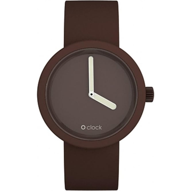 OClock Watches Tone on Tone Chocolate Watch OCT04