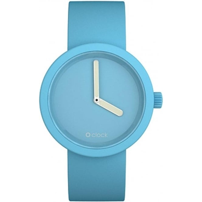 OClock Watches Tone on Tone Light Blue Watch OCT08