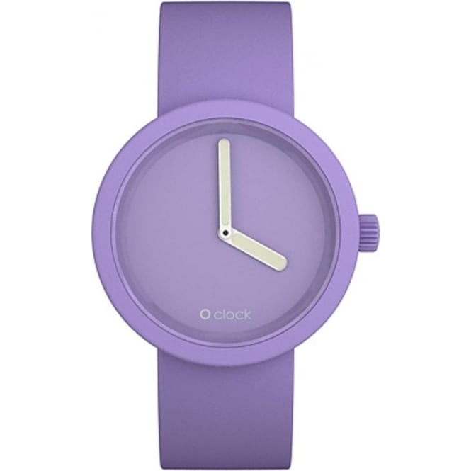 OClock Watches Tone on Tone Lilac Watch OCT09