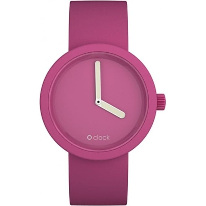 OClock Watches Tone on Tone Magenta Watch OCT10