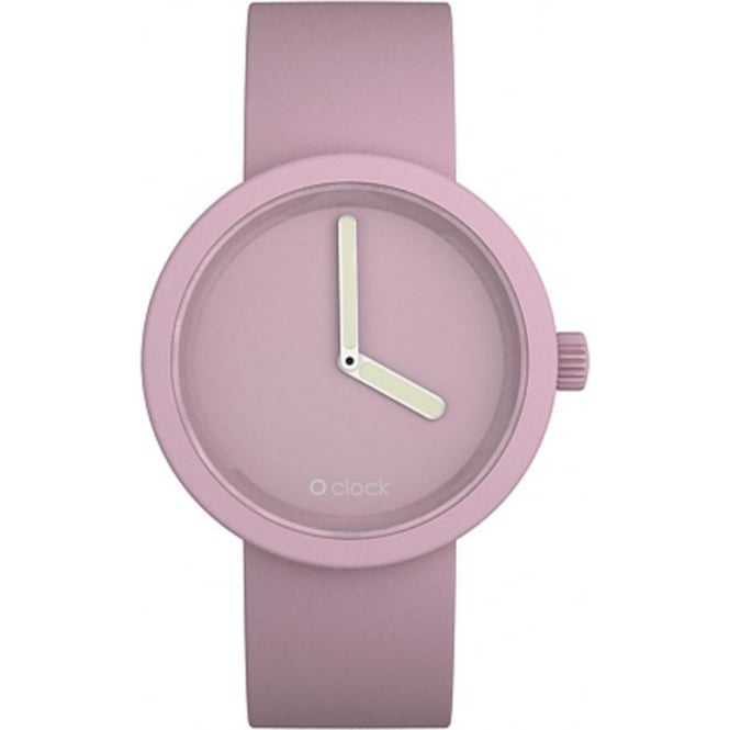 OClock Watches Tone on Tone Powder Pink Watch OCT15