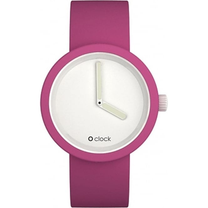 OClock Watches Classic Magenta Watch OCW10