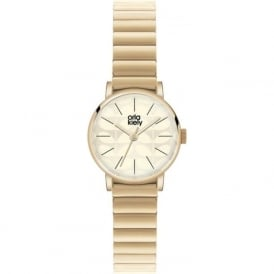Orla Kiely OK4010 Frankie Gold Stainless Steel Ladies Watch