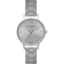 Olivia Burton OB13BL10 Midi Dial Silver Bracelet Ladies Watch