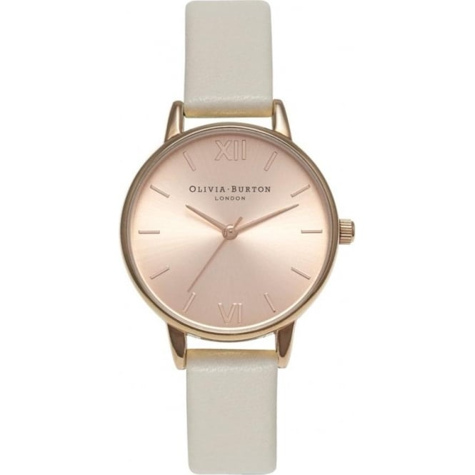 Olivia Burton OB14MD21 Olivia Burton Midi Dial Mink & Rose Gold Ladies Watch
