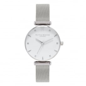 OB16MB12 Social Butterfly Silver Mesh Ladies Watch