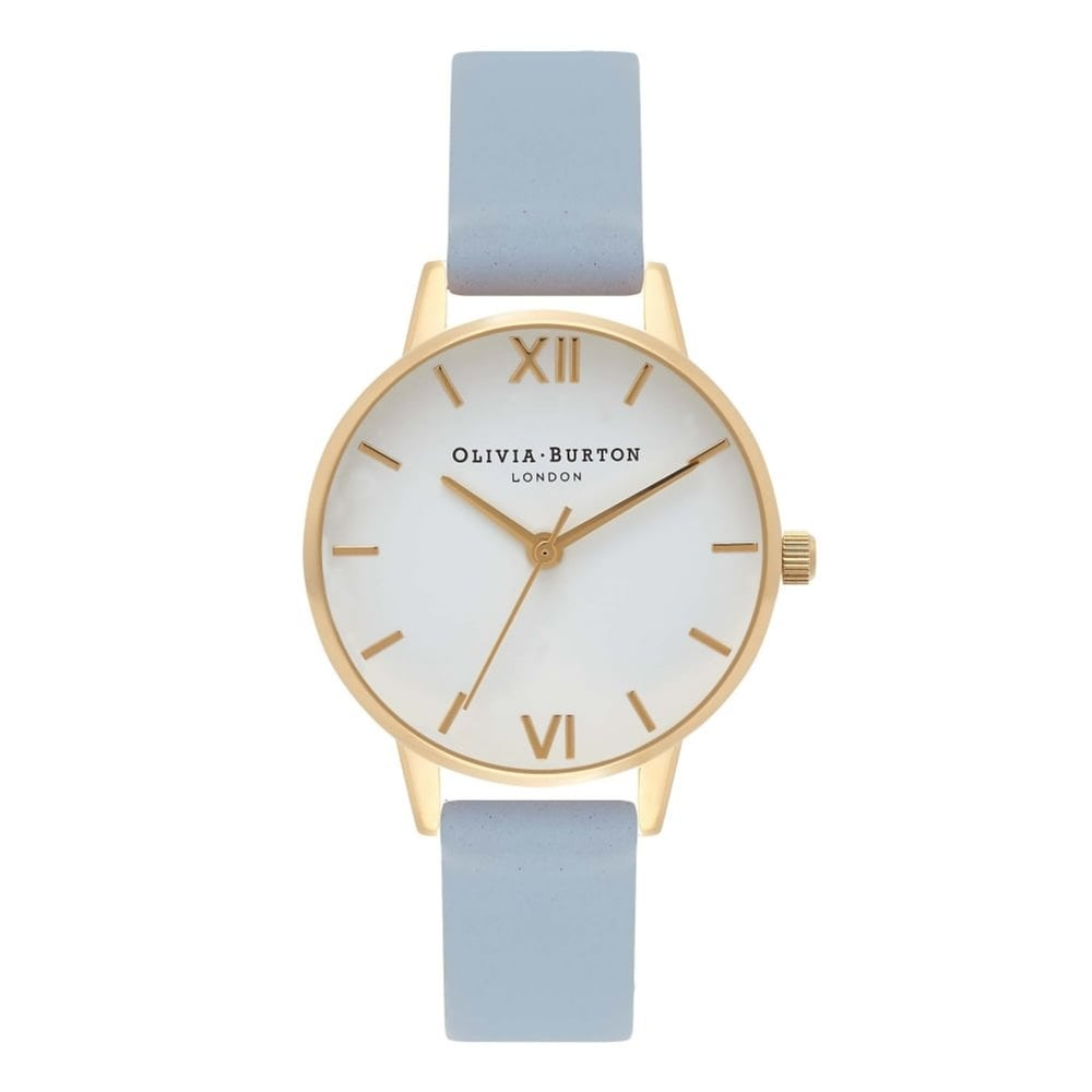 3603a0d1b10 Olivia Burton OB16MDW24 Midi Dial Leather Ladies Watch available at ...