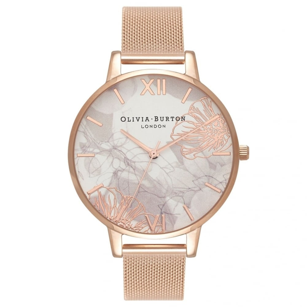 d6c951625 Olivia Burton OB16VM15 Abstract Florals Ladies Watch available at ...