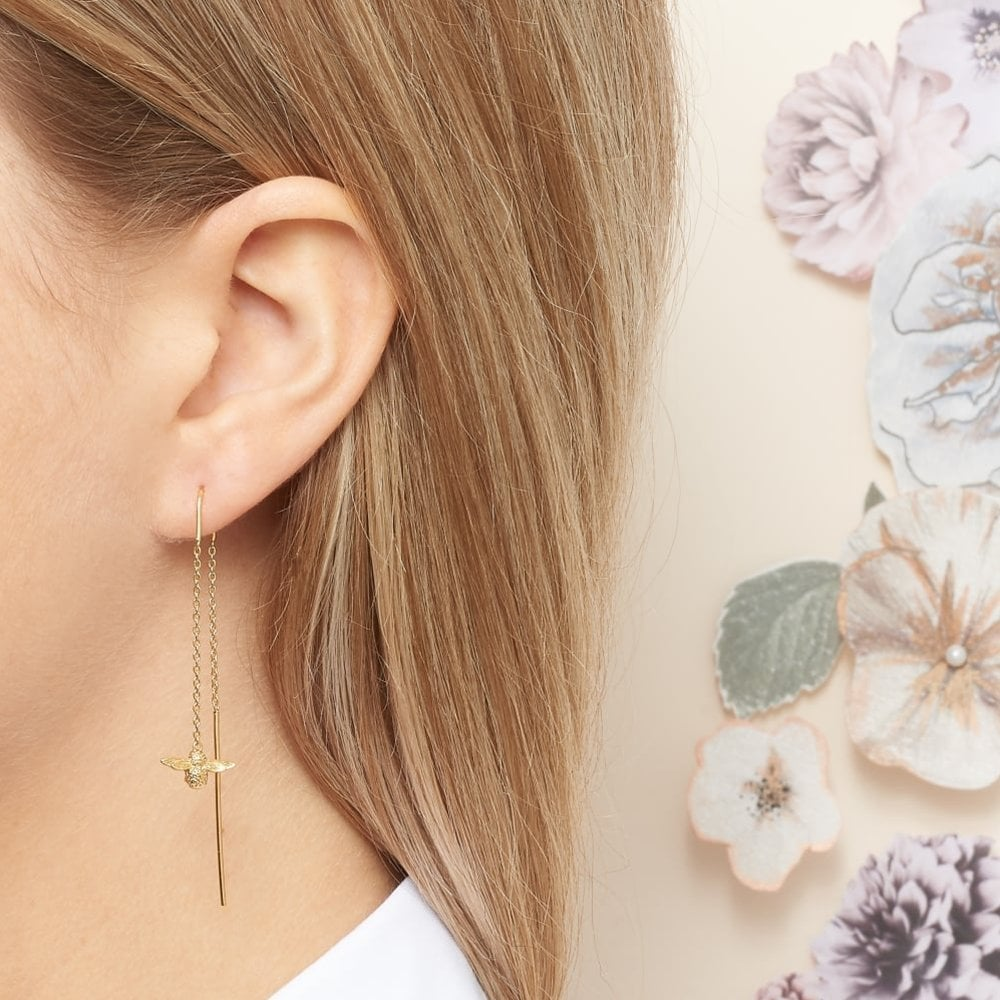Olivia Burton OBJ16AME12 Queen Bee Earrings available at Tic Watches 0426a6df4a