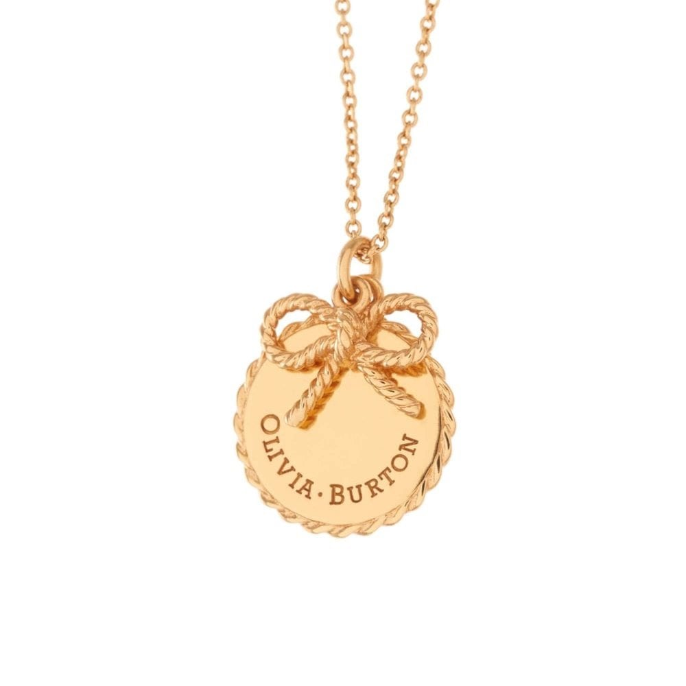 587f7773abcf Olivia Burton OBJ16VBN01 Vintage Bow Necklace available at Tic Watches