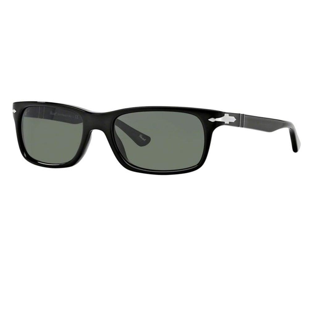 ea3771182d352 0PO3048S 95 31 58 Black and Crystal Green Men s Sunglasses