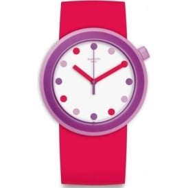 Swatch PNP100 Popalicious Pink & Purple Watch