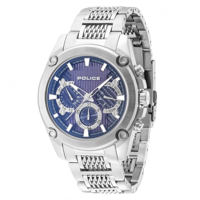 Police Watches Mesh Up 14543JS/03M Men's Chronograph Stainless Steel Watch