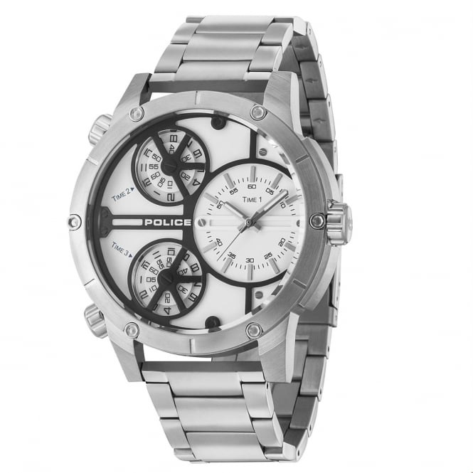 Police Watches Rattlesnake 14699JS/01M Men's Stainless Steel Watch