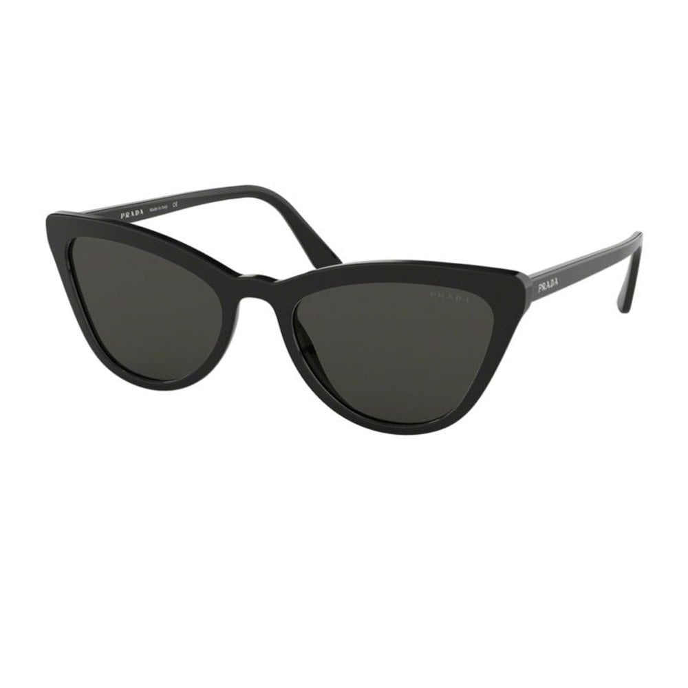 1d0f61d9fa1e 0PR01VS 1AB5S0 56 Catwalk Black Ladies Sunglasses