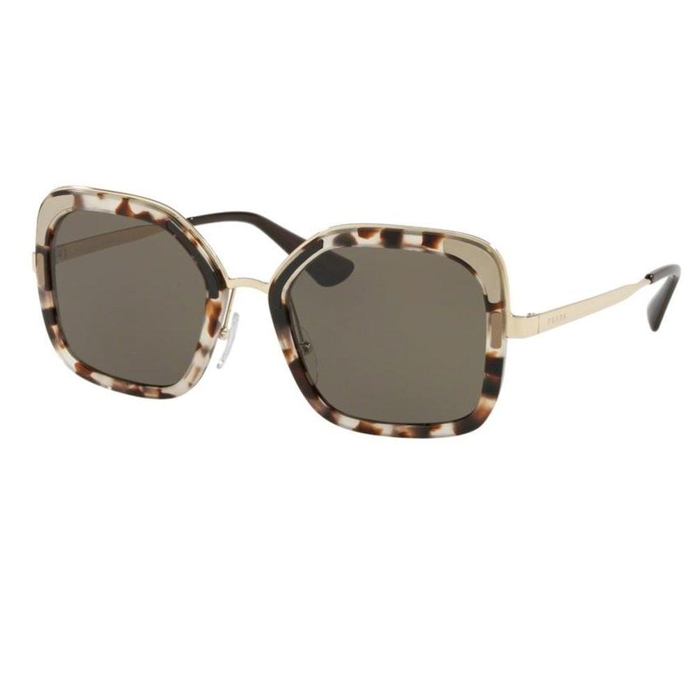 e09b8dd411ba 0PR57US UAO5S2 54 Catwalk Spotted Opal Brown Ladies Sunglasses