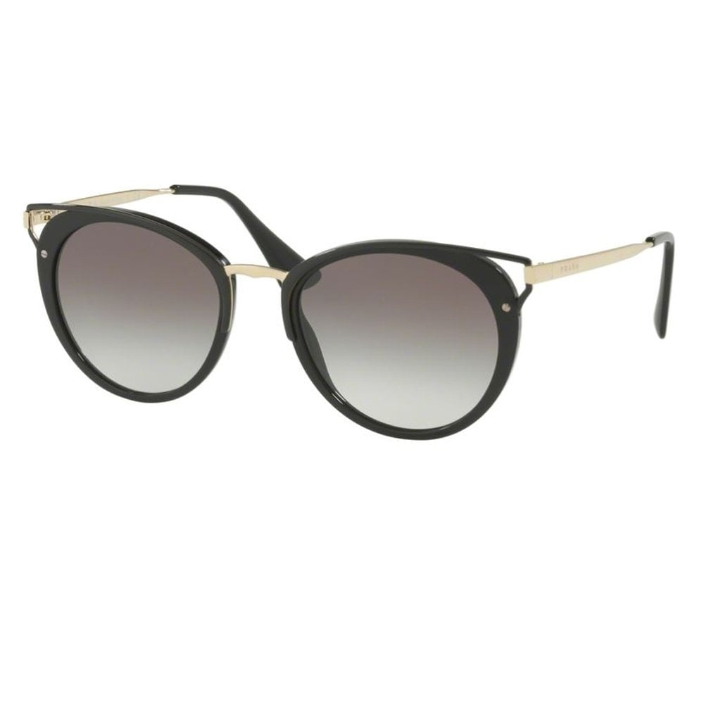 ebd17a50 Prada Sunglasses 0PR66TS 1AB0A7 54 Catwalk Black and Gold Ladies Sunglasses