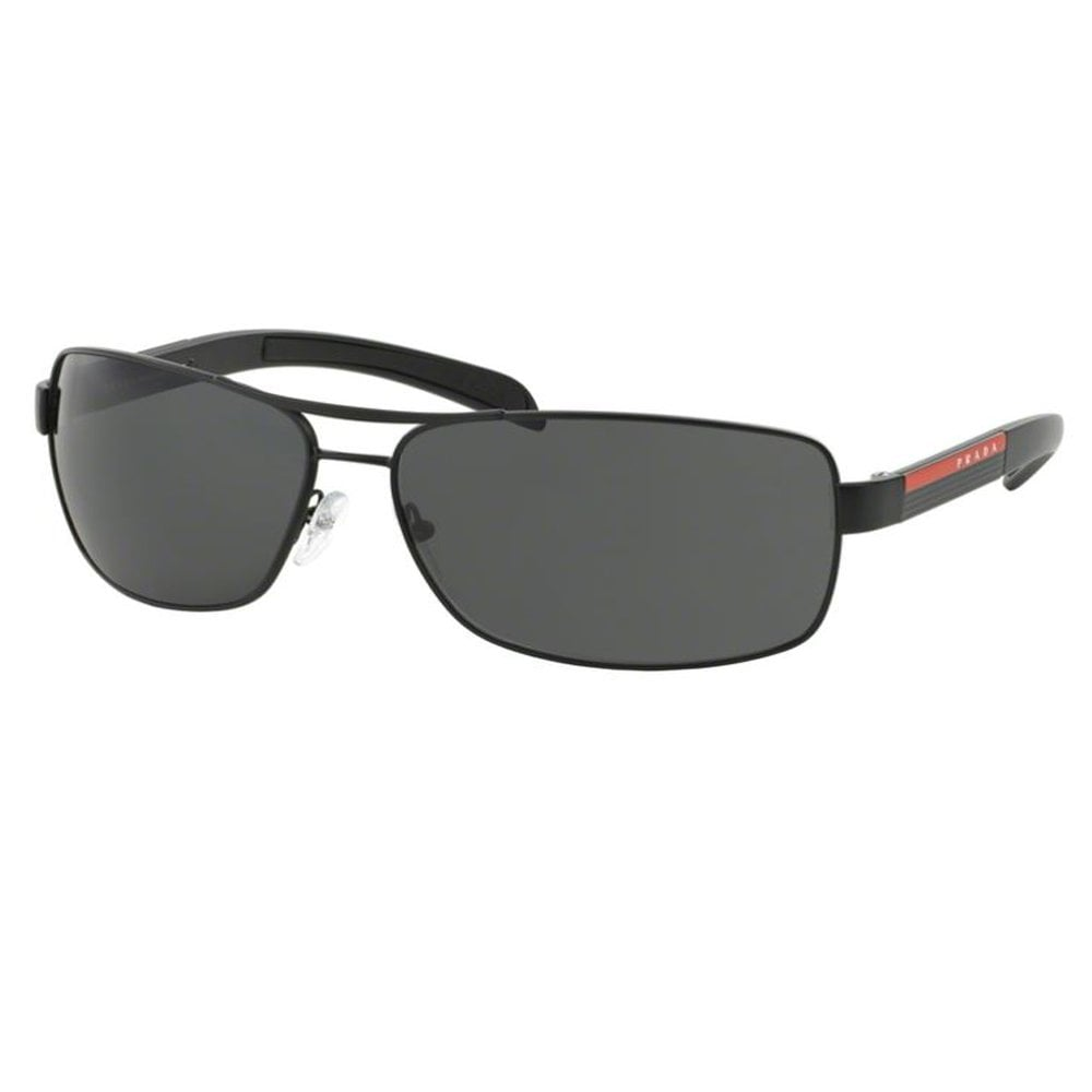 c02b2473bbb7 Sport 0PS54IS 1B01A1 65 Matte Black and Black Rubber Men's Sunglasses