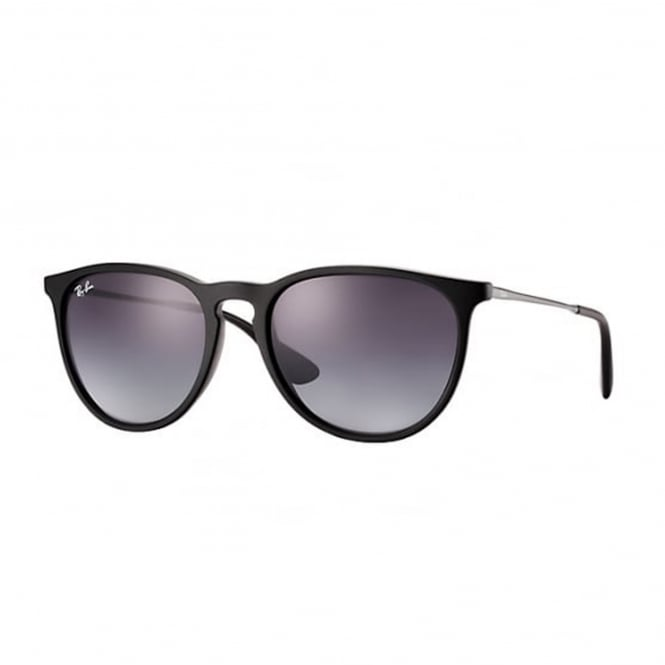 Ray Ban Sunglasses 0RB4171 622/8G 54 Black And Grey Gradient Erika Sunglasses