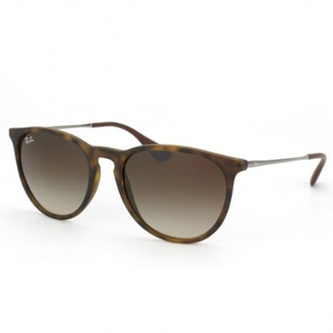 Ray Ban Sunglasses 0RB4171 865/13 54 Erika Matte Tortoise Brown Gradient Unisex Sunglasses