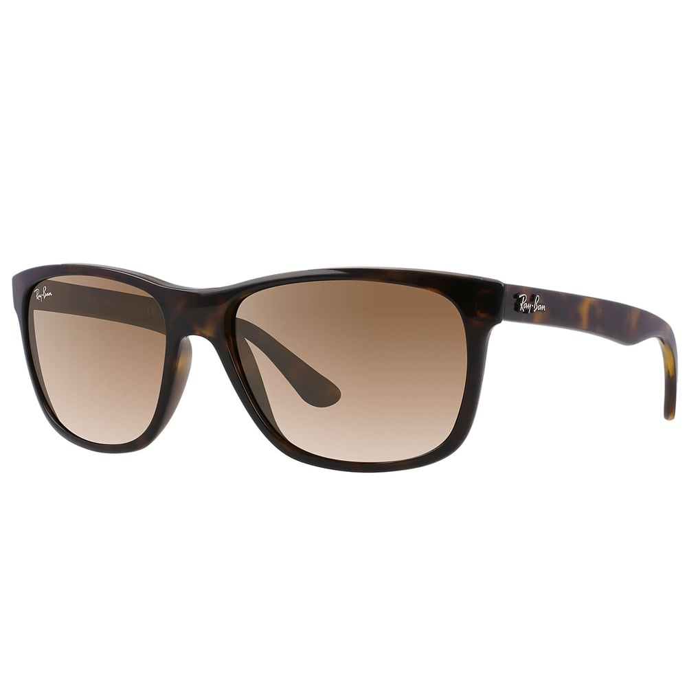 a5da0aebca1fd Ray-Ban 0RB4181 710 51 57 Brown Gradient Sunglasses available at Tic ...