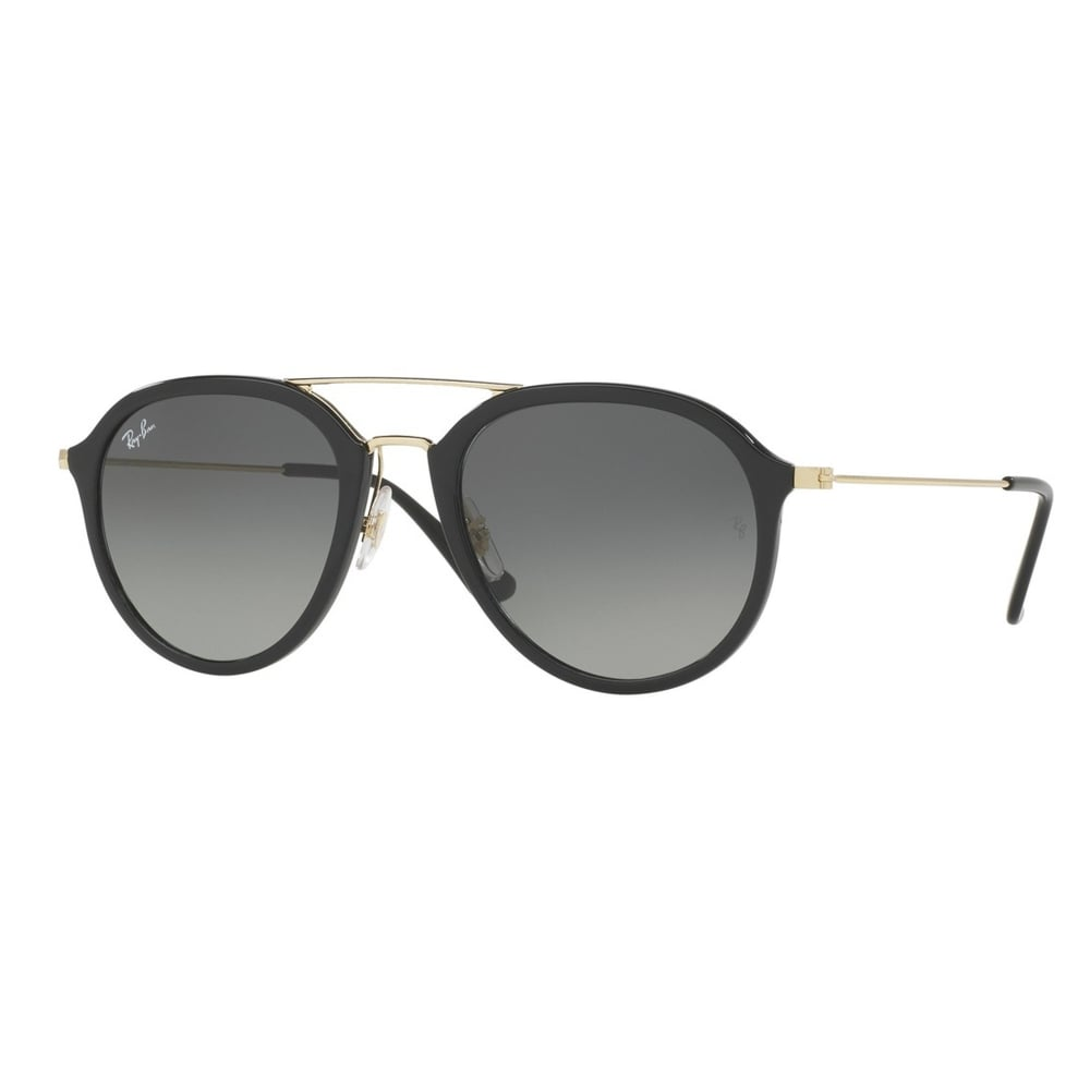 24559bfb97d7a7 0RB4253 601 71 53 Black And Gold Unisex Sunglasses