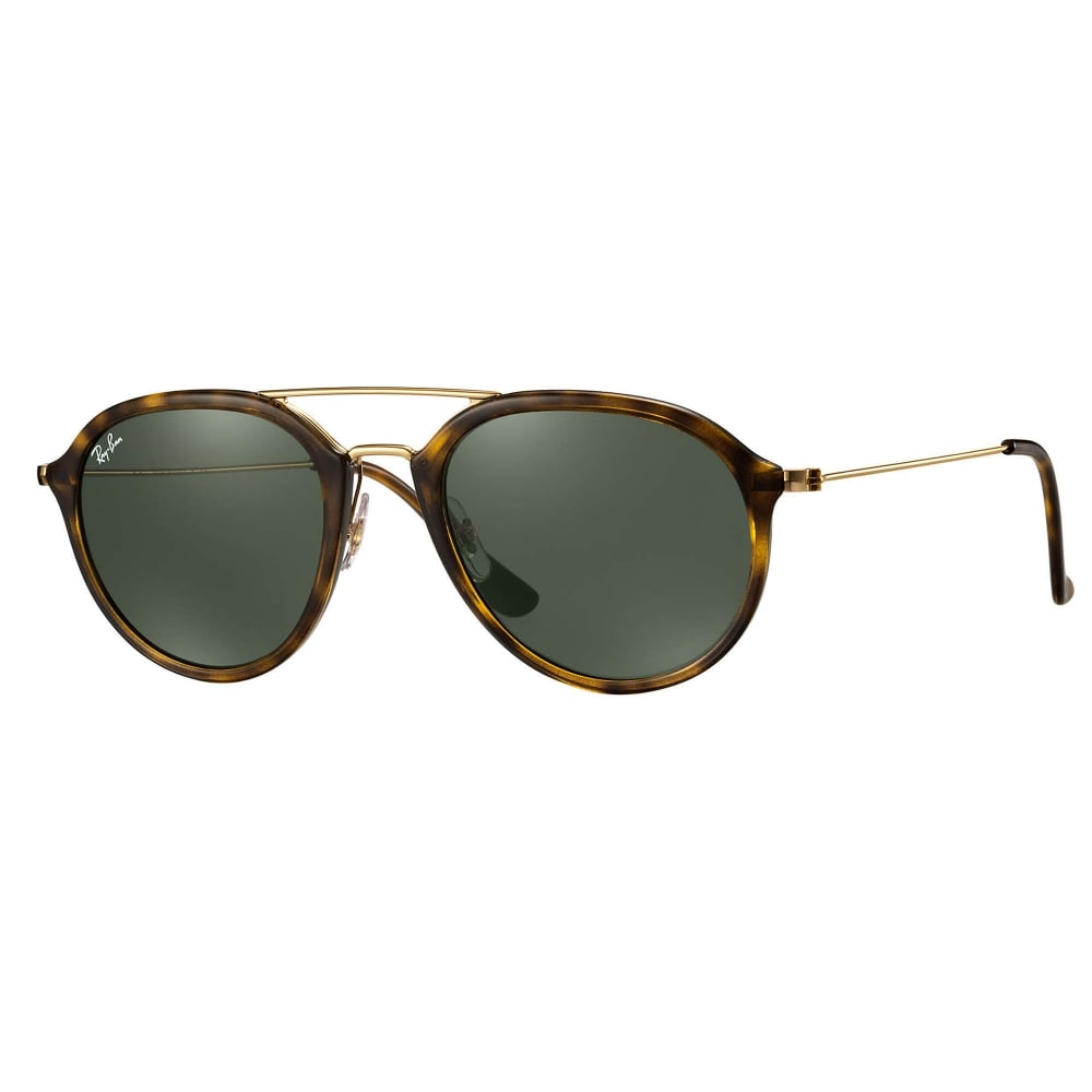 55449115a119e 0RB4253 710 53 Tortoise And Gold Unisex Sunglasses