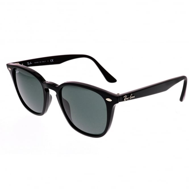 Ray Ban Sunglasses 0RB4258 601/71 50 Black And Green Unisex Sunglasses